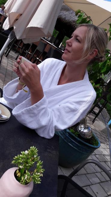 Nachmittags Cappuccino