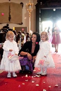 Blumenmädchen bei unserer Hochzeit