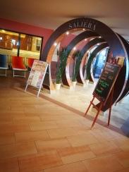 Eingang zum Thermenrestaurant