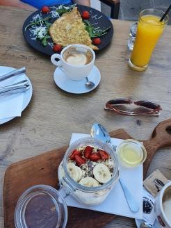 Frühstück in Piran
