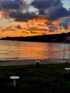 Sonnenuntergang Portoroz